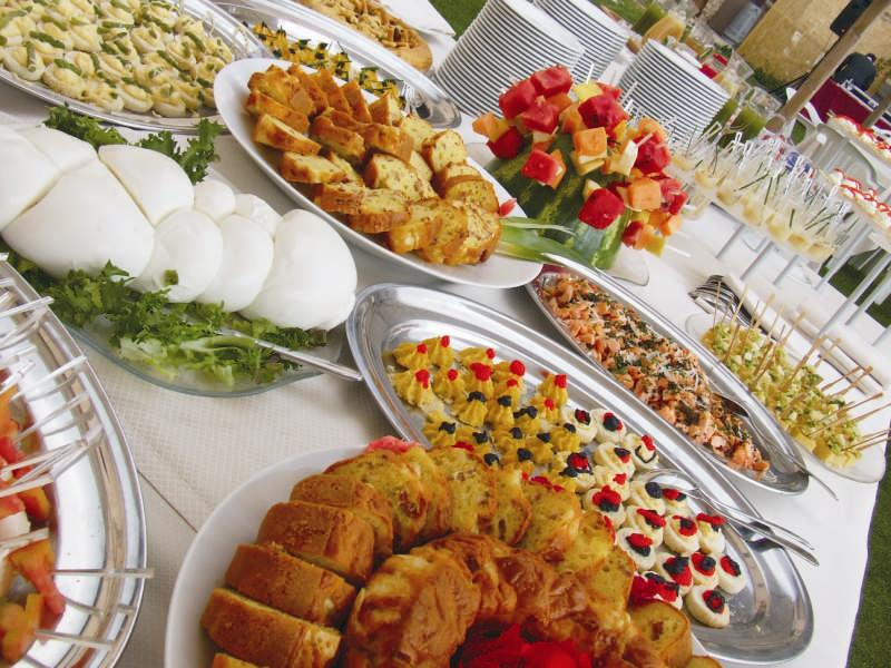 Eventi borgo colle mentuccia for Idee buffet comunione
